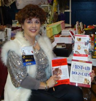 "Amy at 2010 CWA Book signing--with a little ""bling!"""
