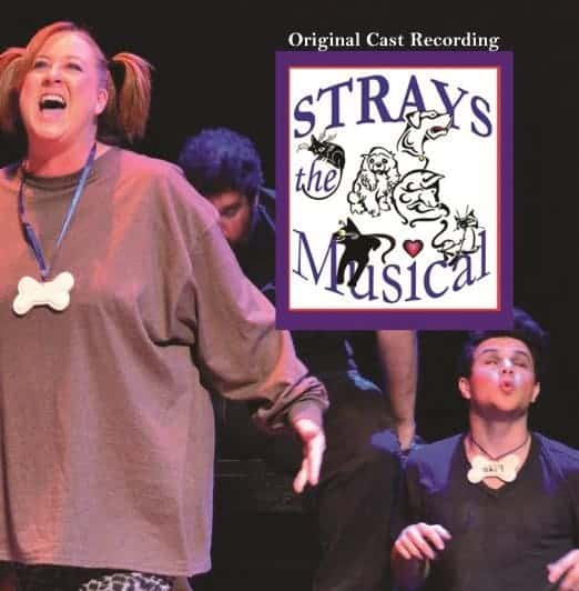 STRAYS THE MUSICAL CAST RECORDING CD