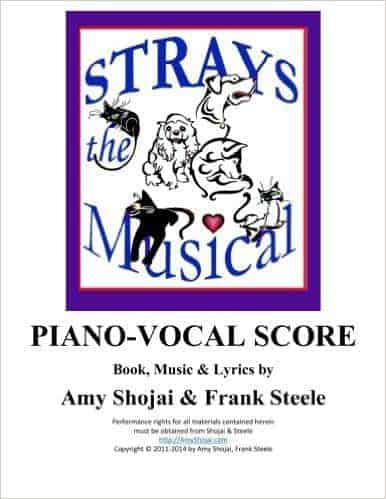 STRAYS PIANO-VOCAL SCORE