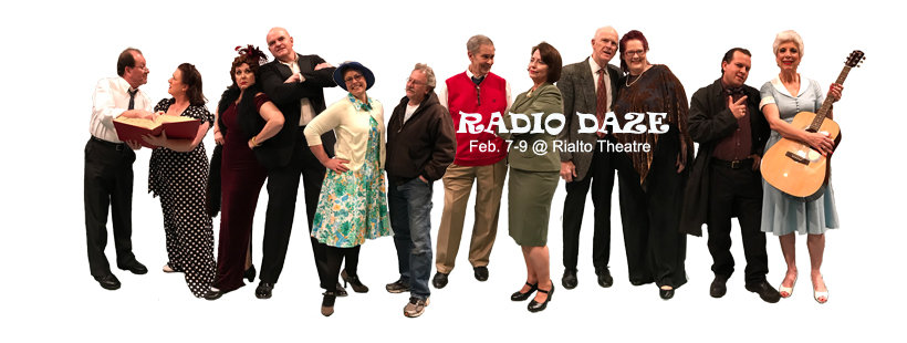 Radio Daze Cast